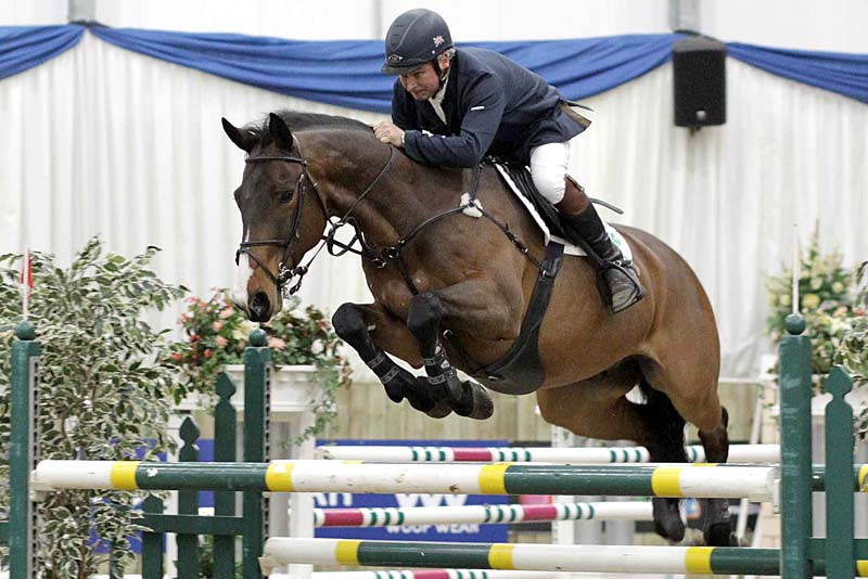 Geoff Billington show jumper