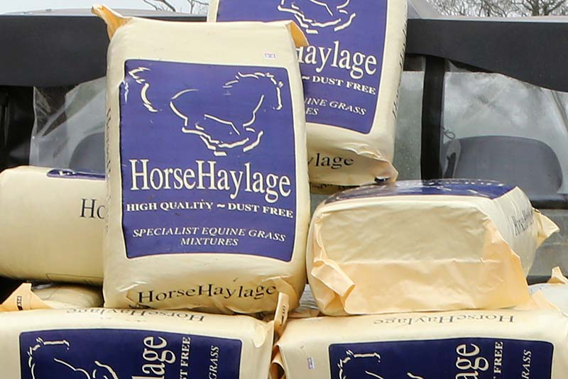 Horsehaylage available on site